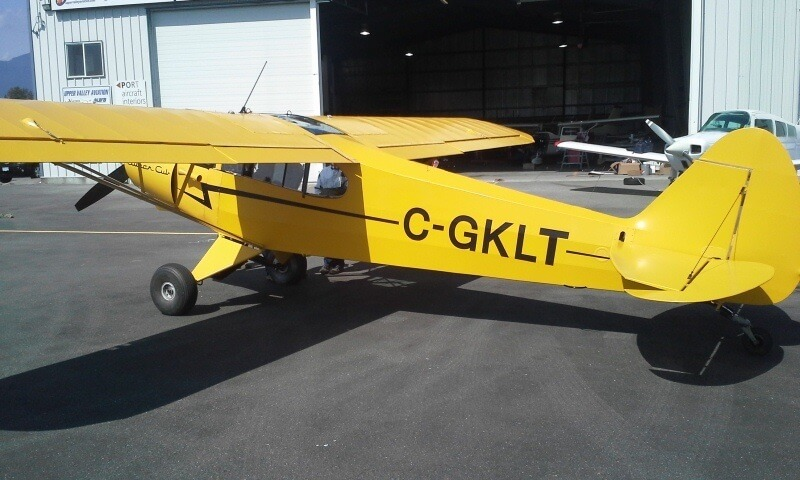 Piper PA-18 Supercub Paint and Rebuild (5)