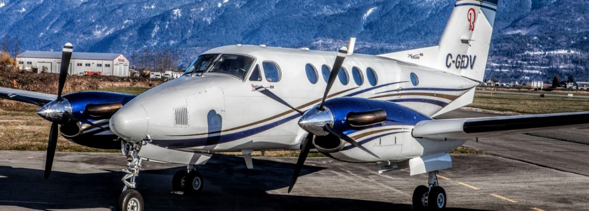 Beech King Air 200 Paint and Interior plus upgrades