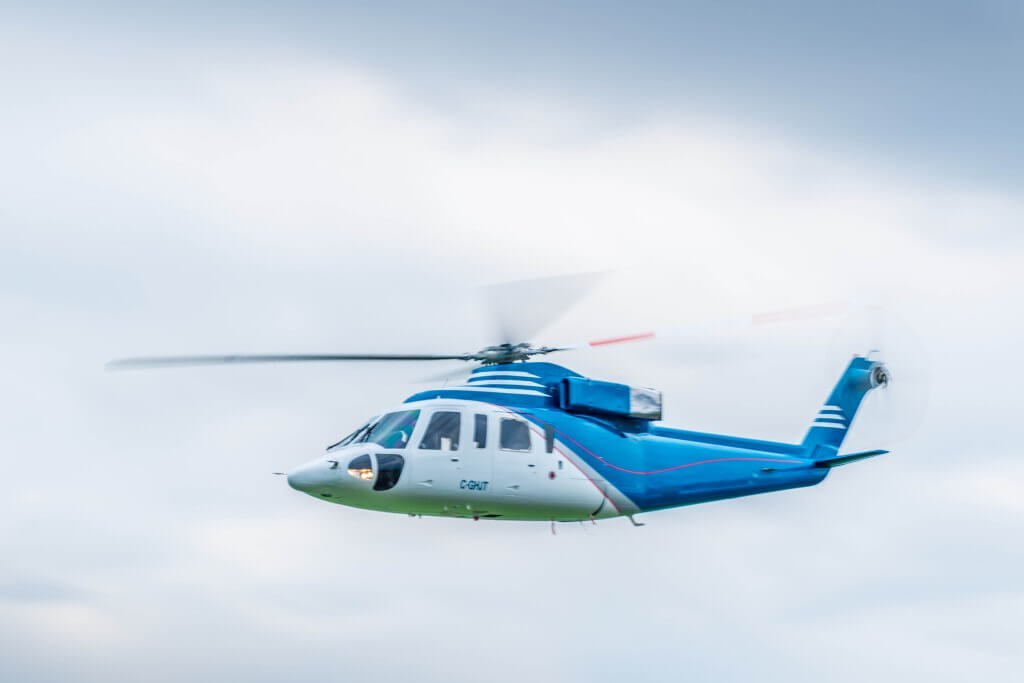 Sikorsky S 76 Paint